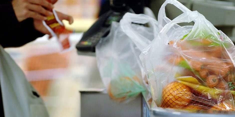 Les sacs en plastique pour fruits et légumes interdits dès mars