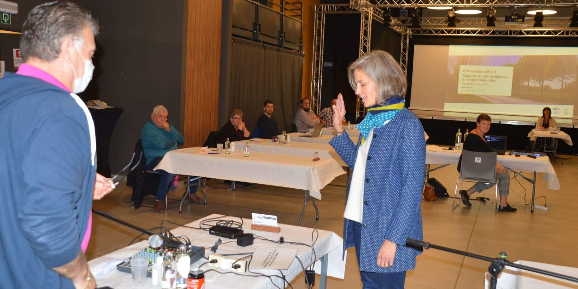 Bernissart : Maud Wattiez (Ecolo) a prêté serment