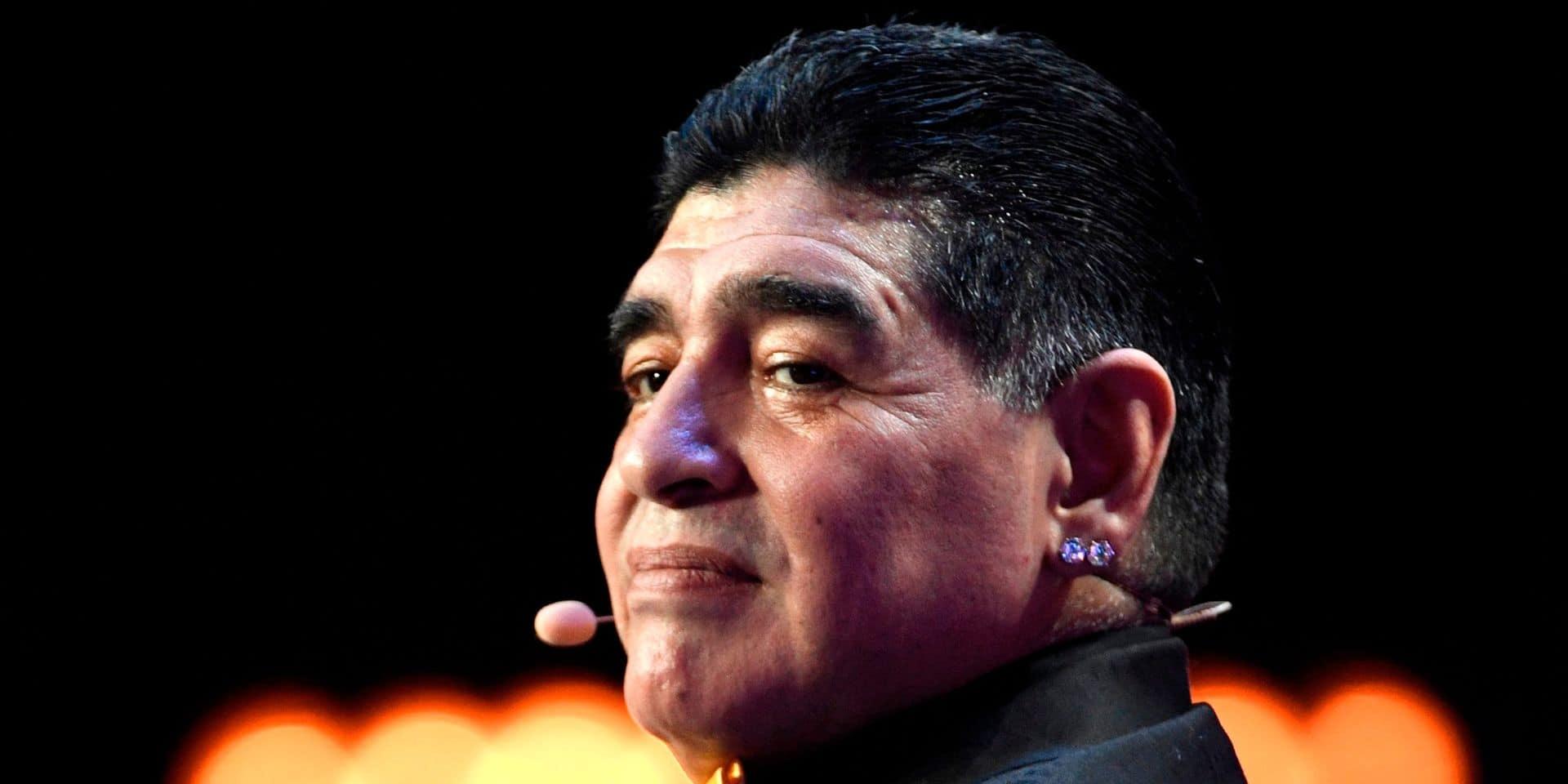 Diego Maradona devrait sortir de l'hôpital rapidement, selon son médecin