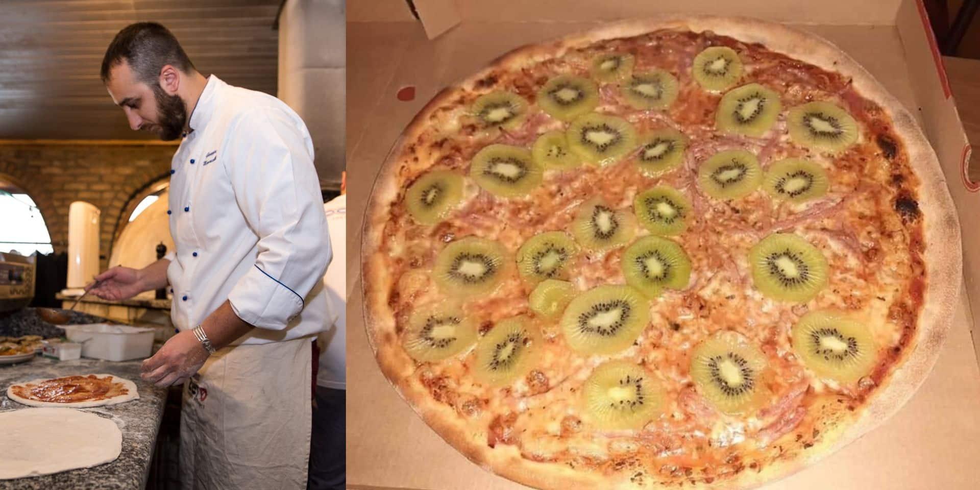 Après la pizza hawaïenne, voici la pizza... au kiwi