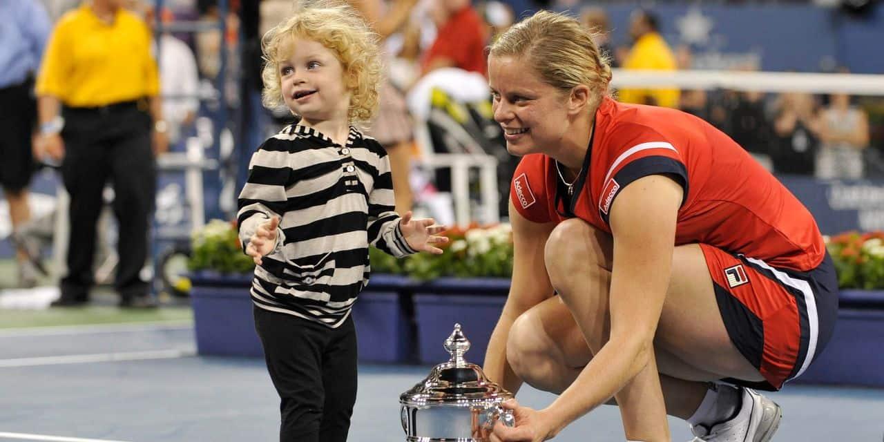 Jada Clijsters a bien grandi... et préfère le basket au tennis (VIDEO)
