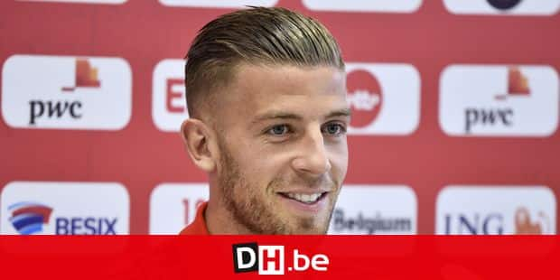 Belgium's Toby Alderweireld pictured during a press contact with some players of Belgian national soccer team the Red Devils in Nahabino, near Moscow, Russia, Friday 15 June 2018. The team is preparing for their first game at the FIFA World Cup 2018 next Monday. BELGA PHOTO DIRK WAEM