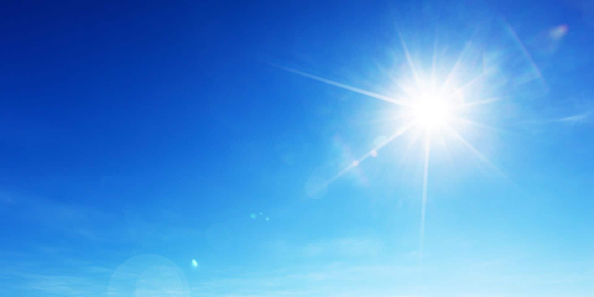 Météo : Un temps ensoleillé et jusqu'à 21 degrés mercredi