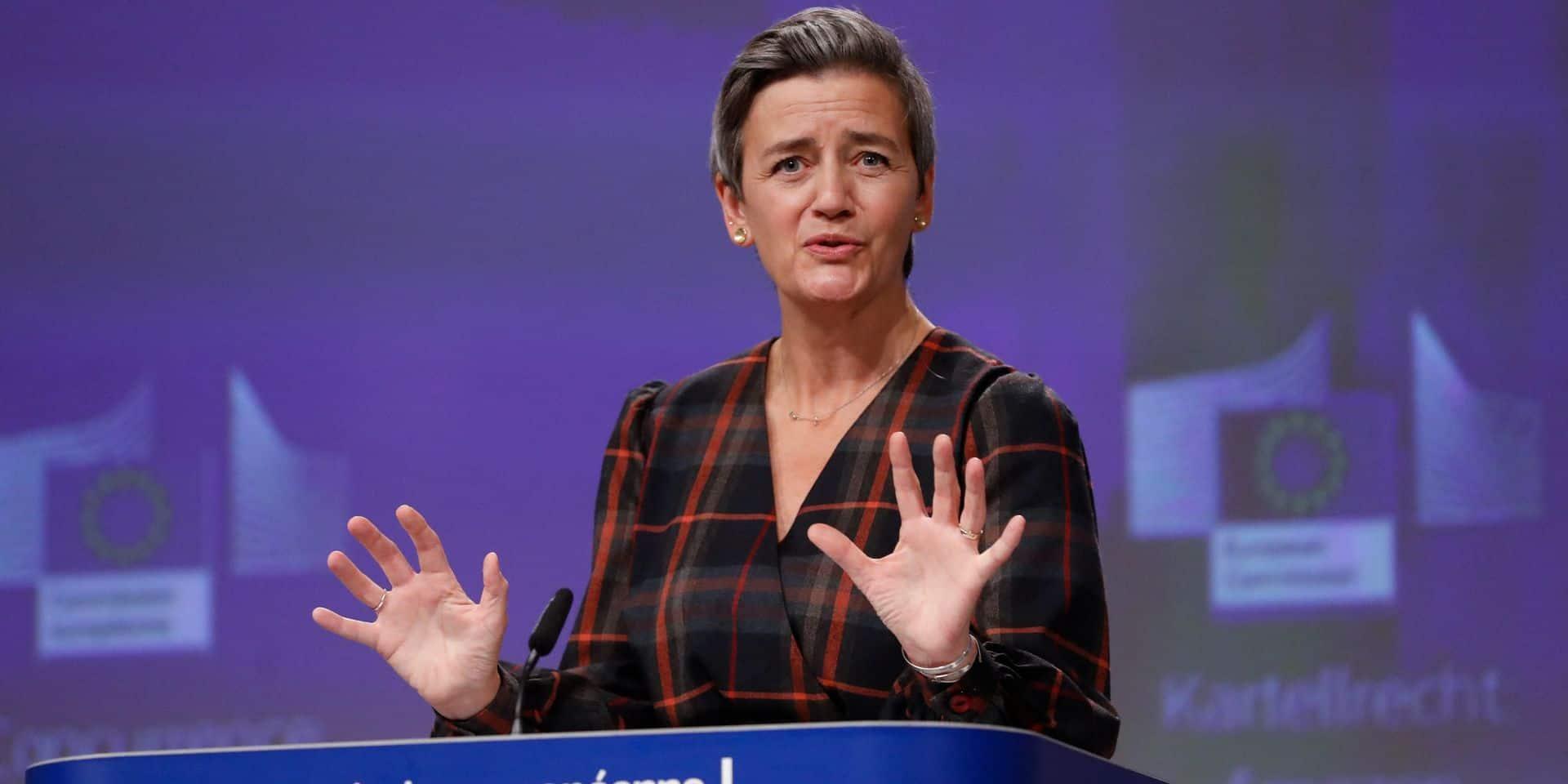 """""""Ce type de norme, c'est le genre de chose que l'on peut et que l'on doit attendre de l'Europe"""", a déclaré Margrethe Vestager, vice-présidente chargée de la politique de concurrence."""