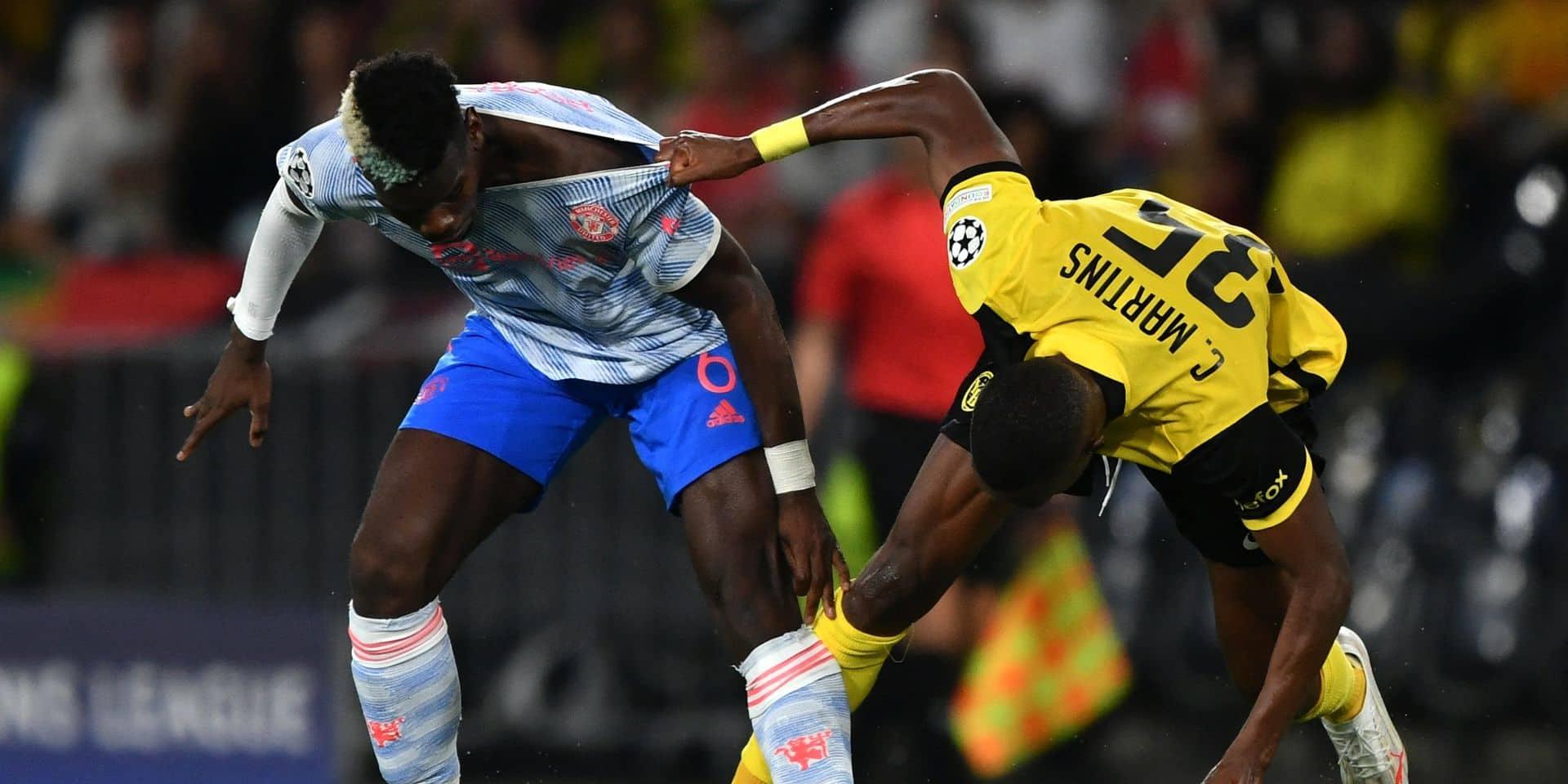 C1: Les Young Boys terrassent United (2-1), Salzbourg manque 2 pénaltys à Séville (1-1)