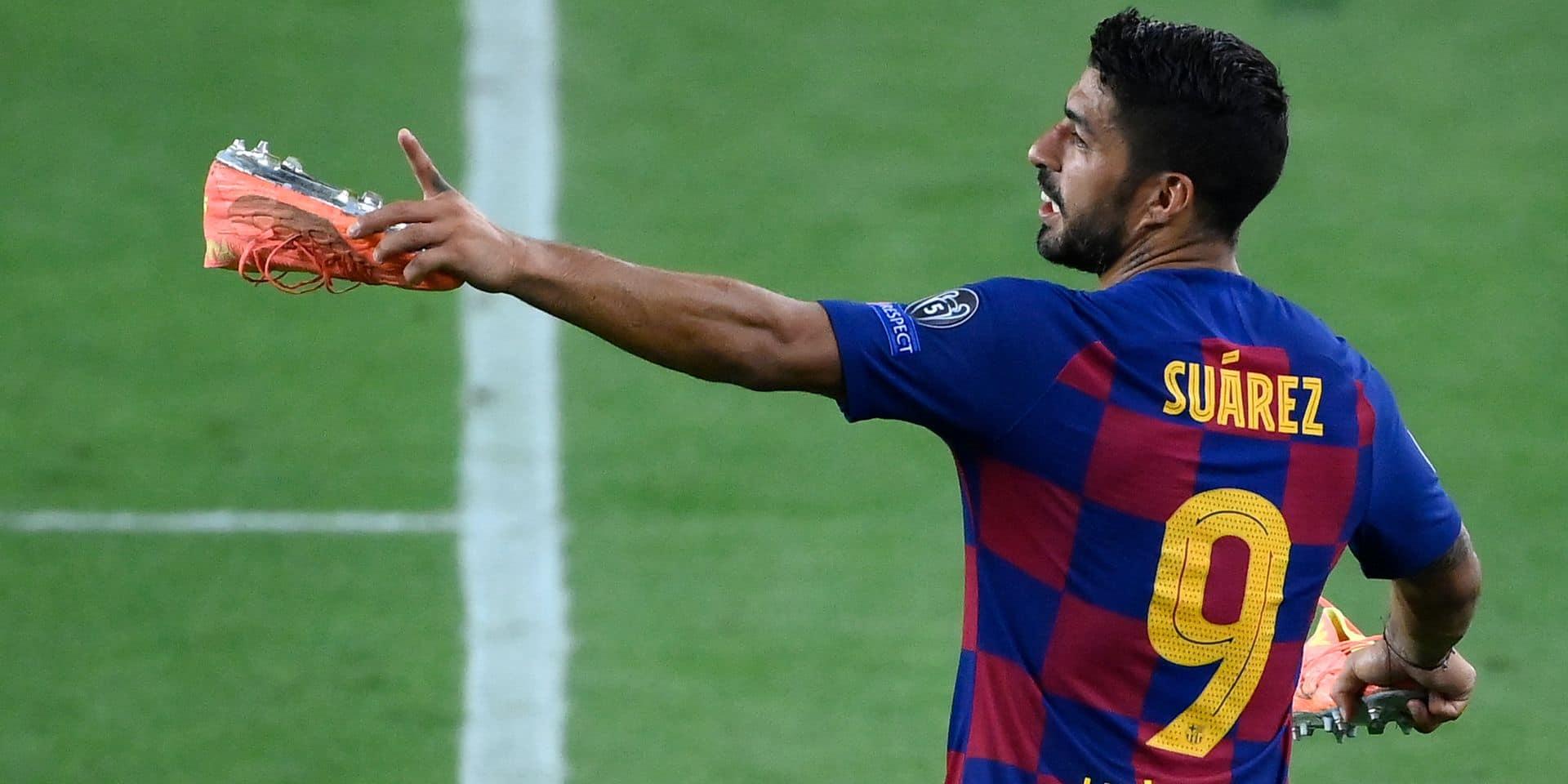 Journal du mercato (14/08): Luis Suarez pourrait quitter le FC Barcelone !