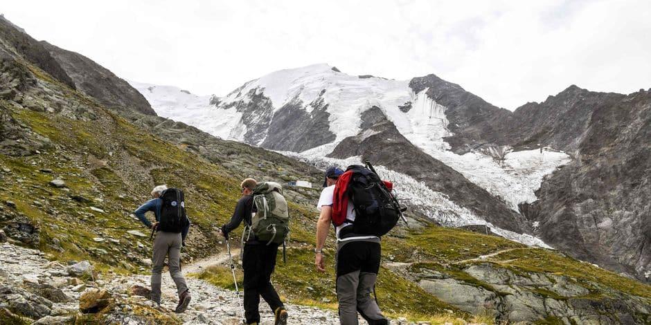 Trois alpinistes se tuent dans le massif du Mont-Blanc — Accident
