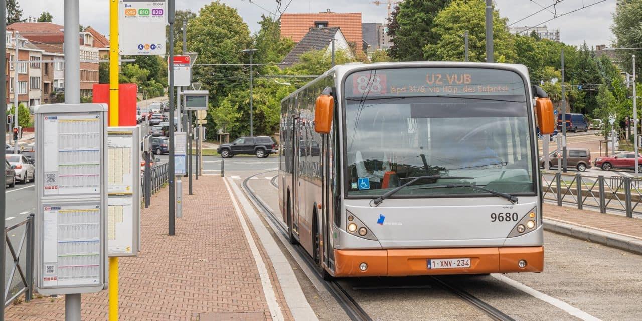 """Un nouvel itinéraire et un arrêt """"Boule et Bill"""" pour le bus 88 à Jette"""