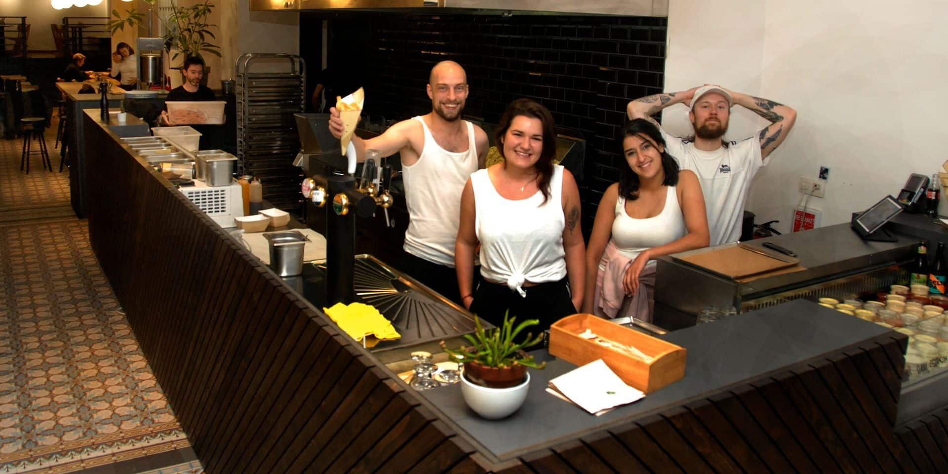 Saint-Gilles : Patatak, première friterie labellisée Good Food