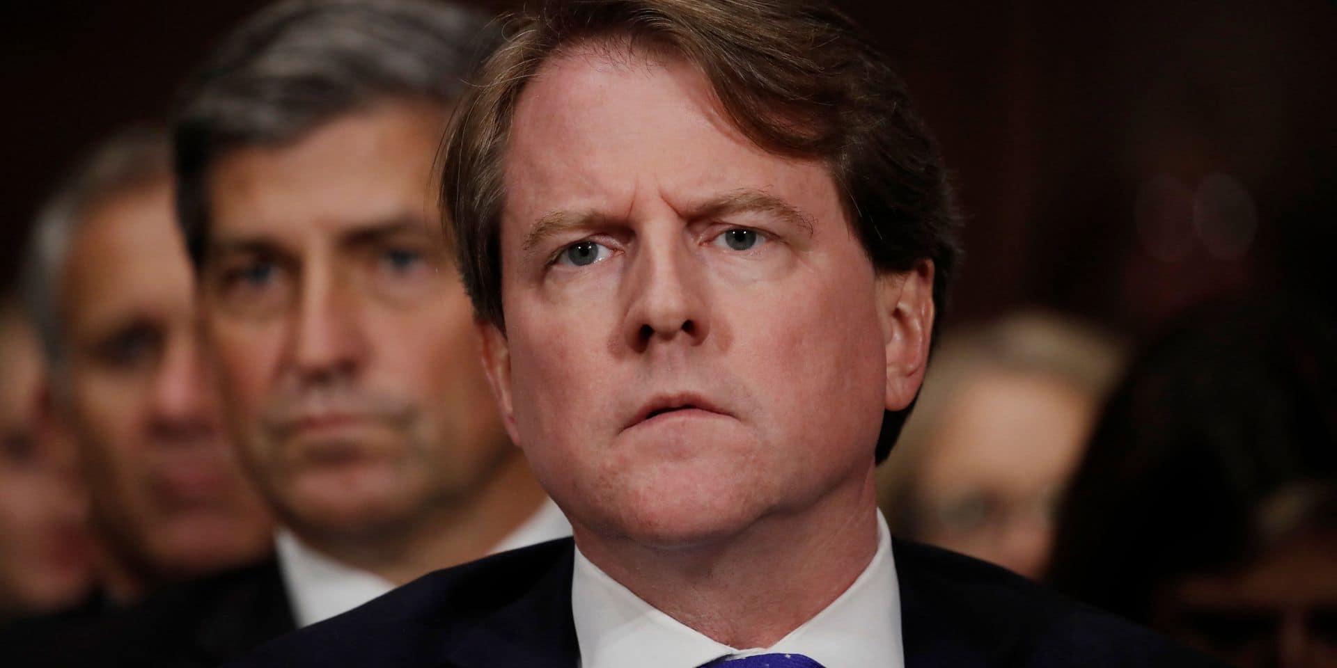 L'ex-avocat de la Maison Blanche Don McGahn accepte de témoigner au sujet de Trump