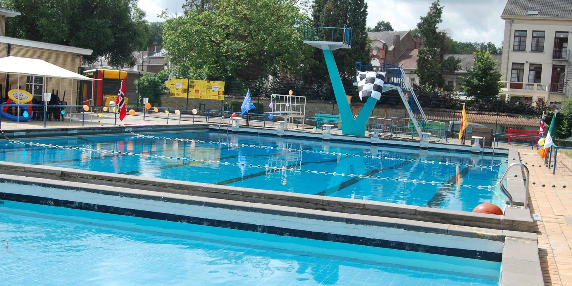 Péruwelz : la piscine accessible durant tout l'été !