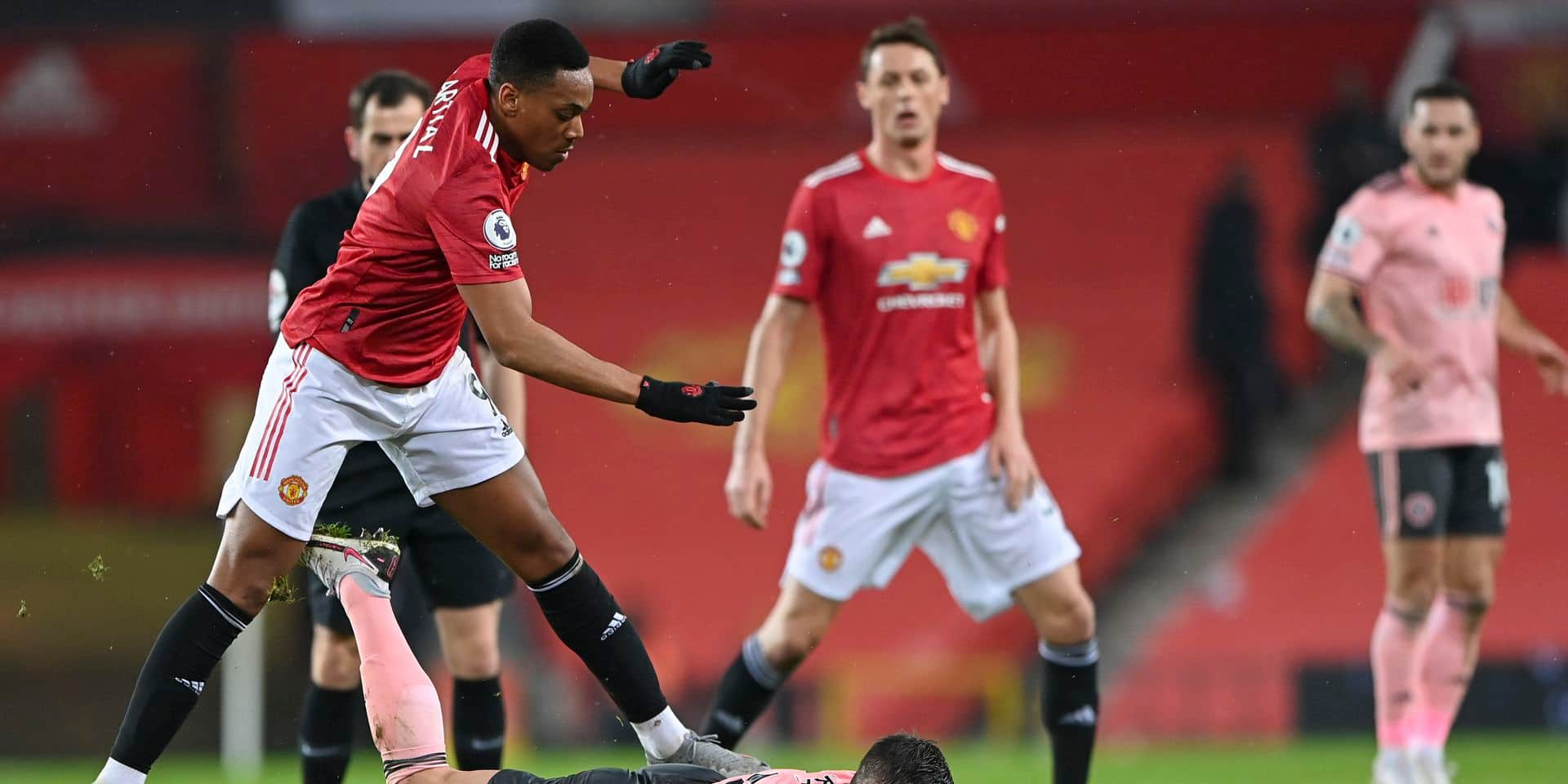 A Manchester United, Martial est sous le feu des critiques