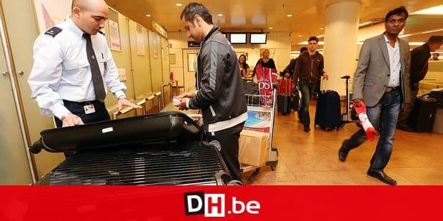 Photos Bernard Demoulin: La douane de Zaventem Airport