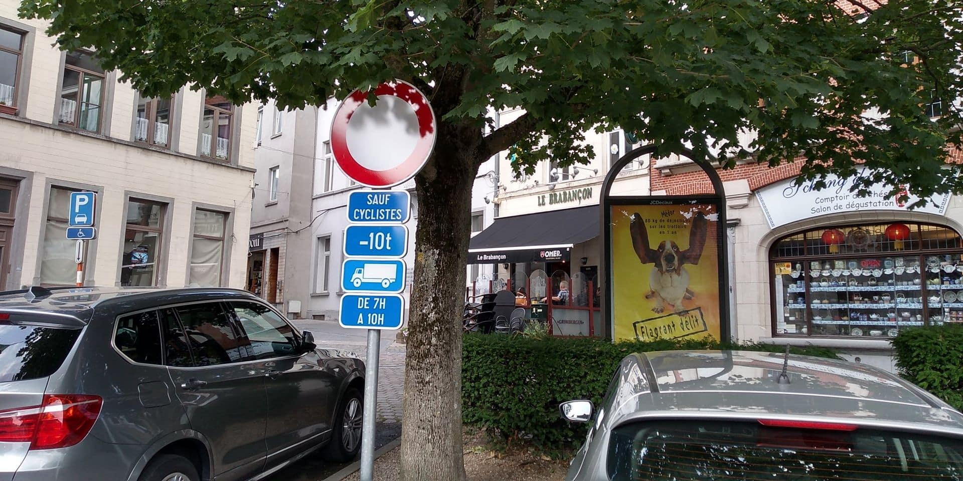 "Le centre de Braine est plus ""bike friendly"""