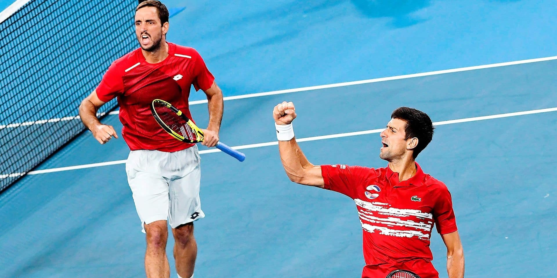"""Djokovic, vainqueur de l'ATP Cup avec la Serbie: """"C'est un des plus beaux titres de ma carrière"""""""