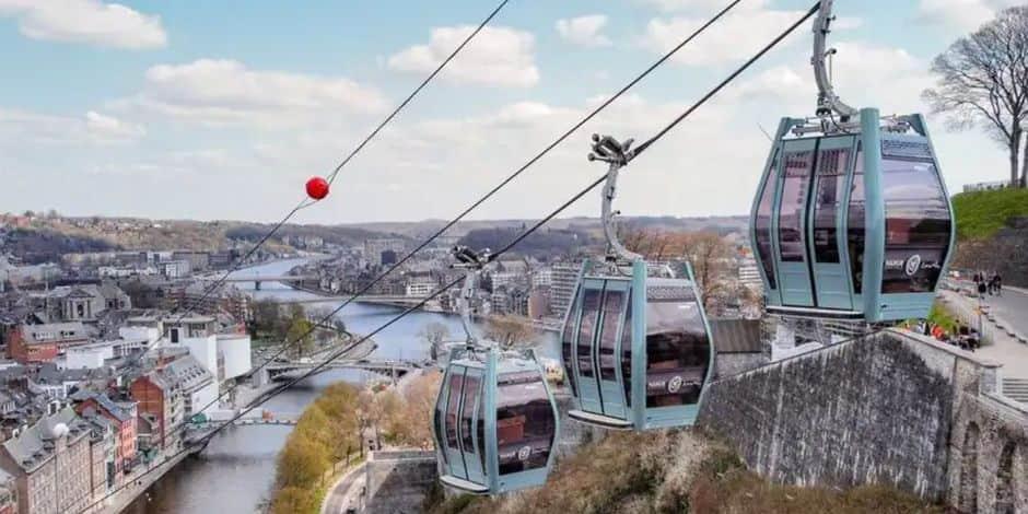 """Namur : """"Le téléphérique restera un outil touristique"""""""