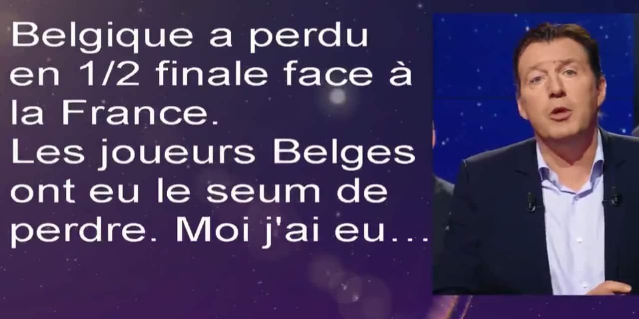 """Wilmots: """"Il n'y a pas eu photo, l'équipe de France méritait de gagner contre la Belgique"""""""