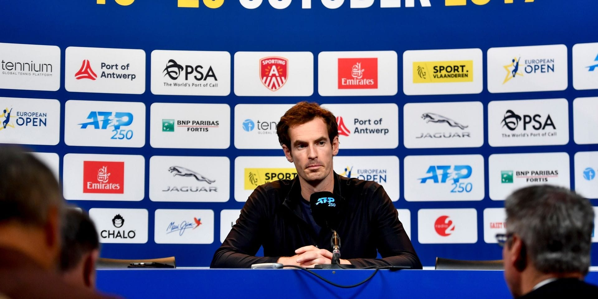 Van Herck, Clijsters ou Hoferlin: les confidences d'Andy Murray sur le tennis belge