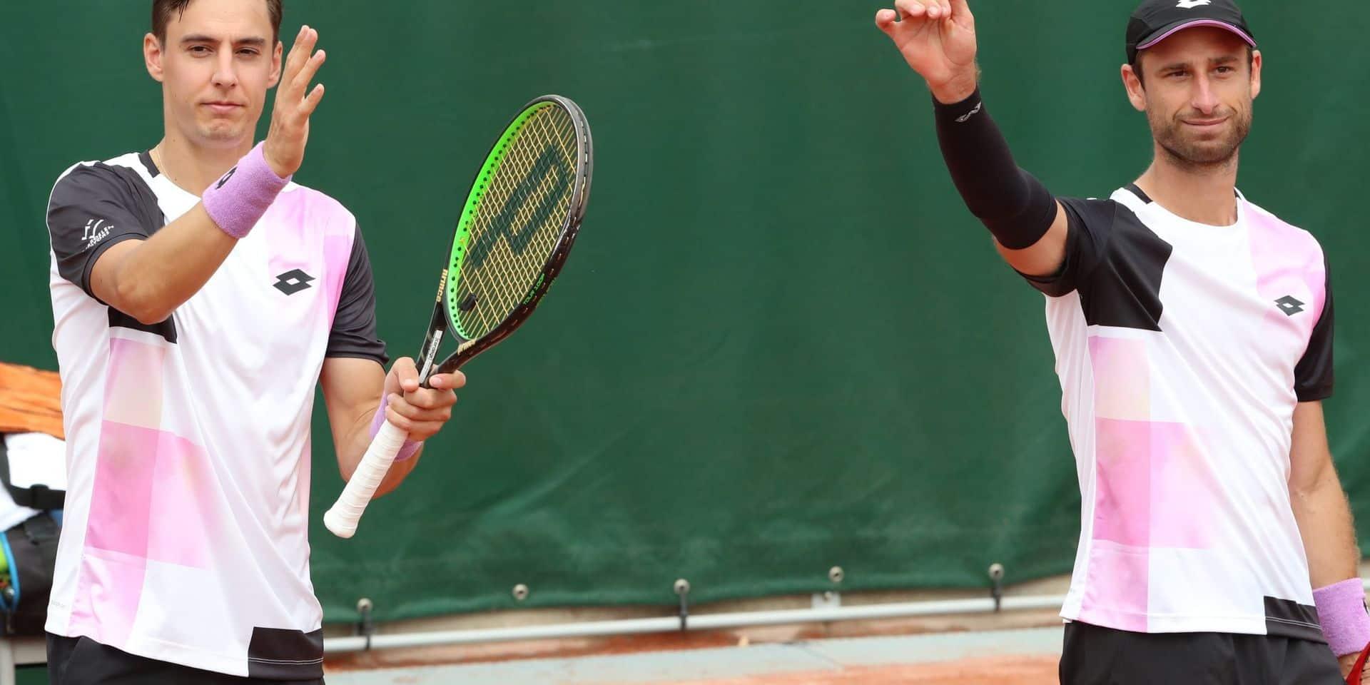 Roland-Garros: Sander Gillé et Joran Vliegen en 8e de finale du double messieurs, Elise Mertens qualifiée pour les huitièmes de finale
