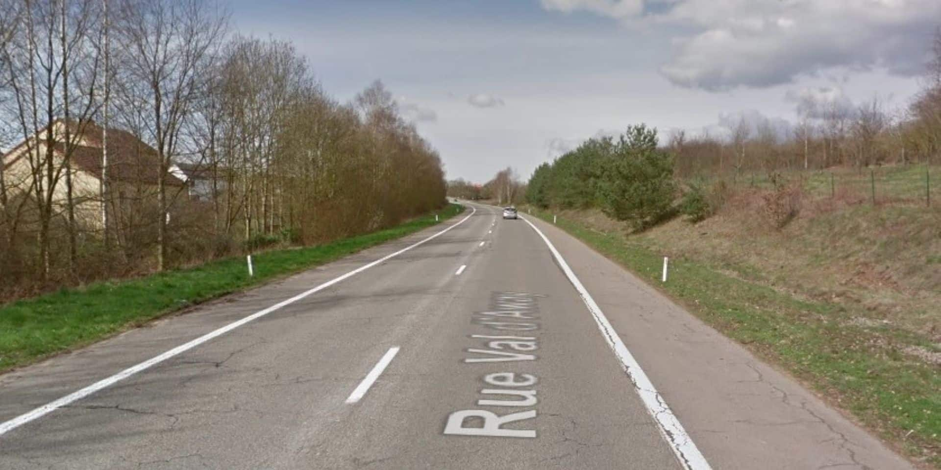 Accident de la circulation à Virton : un motard blessé