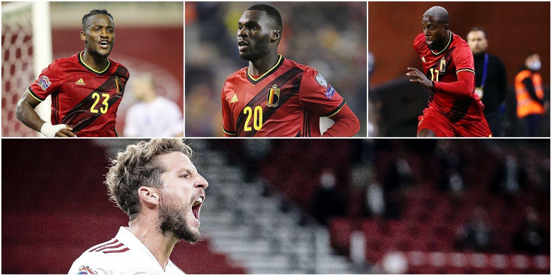 Batshuayi, Benteke, Mertens, De Ketelaere: qui pour doubler Lukaku chez les Diables ?