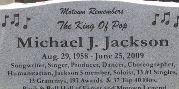 Le secret de la tombe de Michael Jackson enfin percé