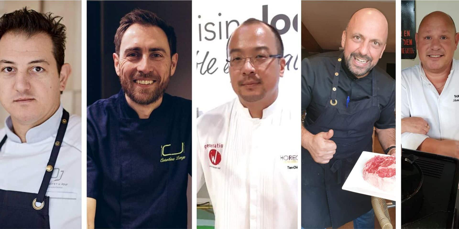 Cinq chefs préparent des repas pour les hôpitaux de Charleroi