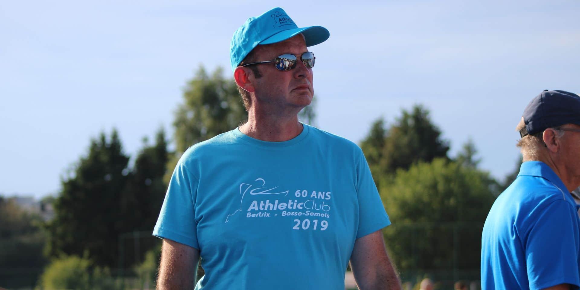 """Christophe Bodart est devenu administrateur de la Ligue Belge francophone d'Athlétisme: """"Le CA de la LBFA, une suite logique"""""""