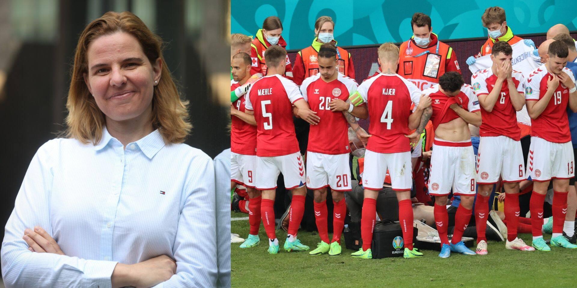 """La psy Ellen Schouppe revient sur les images bouleversantes d'Eriksen: """"Les Danois pourraient en sortir plus soudés"""""""