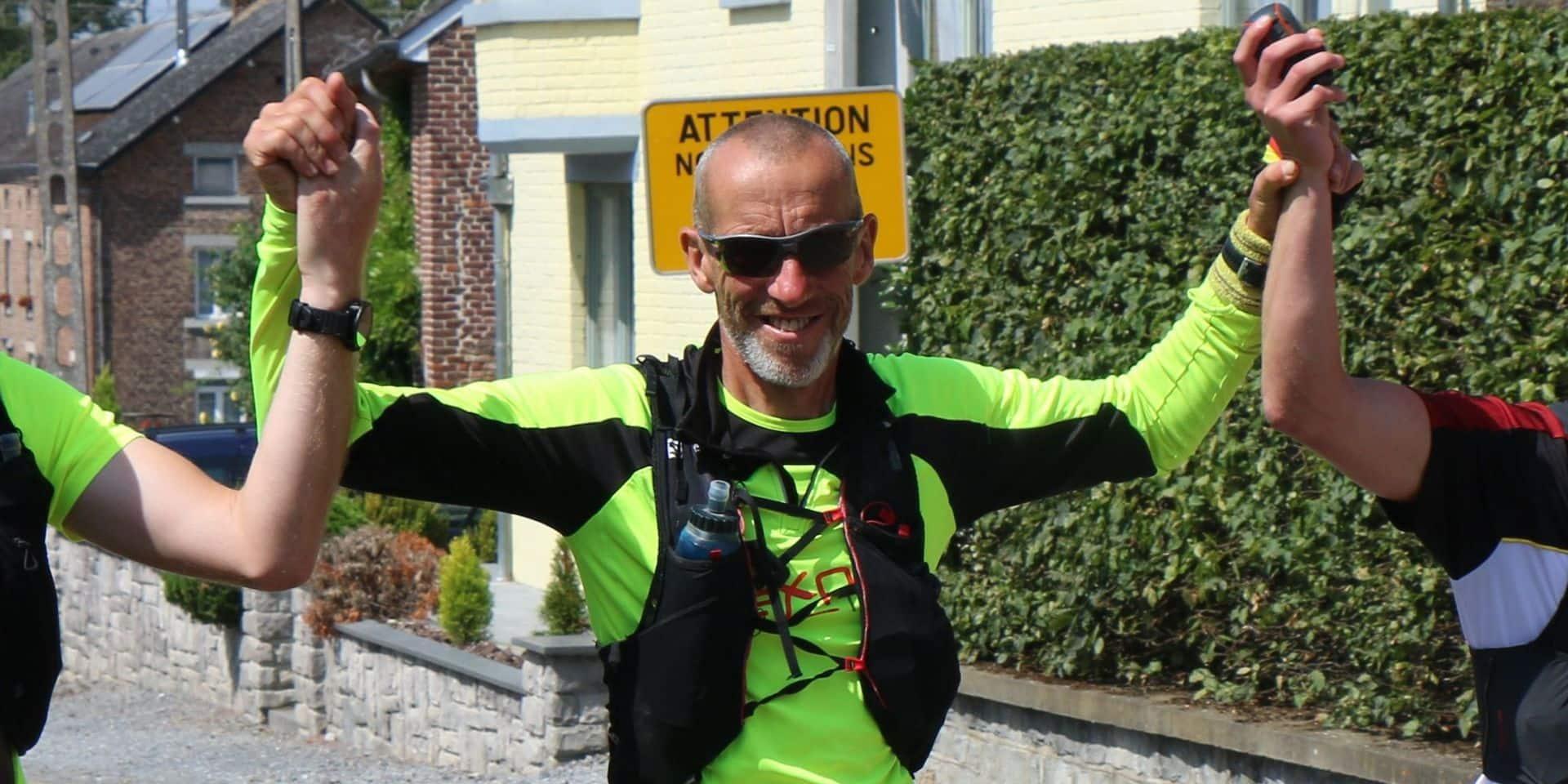 294 km et 45 heures de course pour Frédérick Hardenne, nouveau King of Confinement