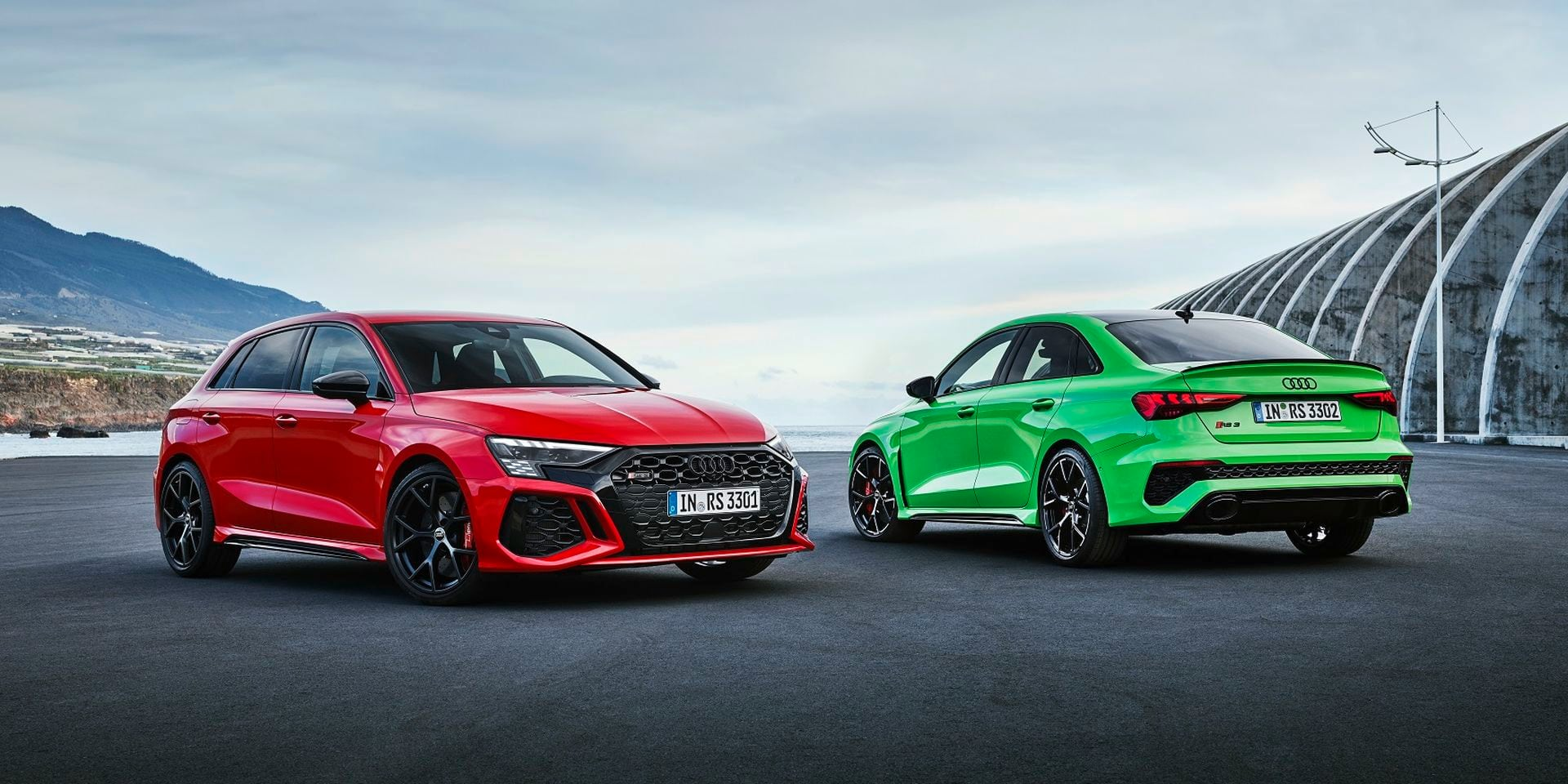 Audi RS3 : En ligne directe