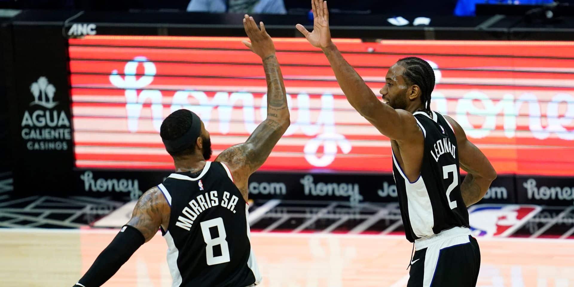 NBA: les Clippers et Utah engrangent, Boston et Dallas flanchent