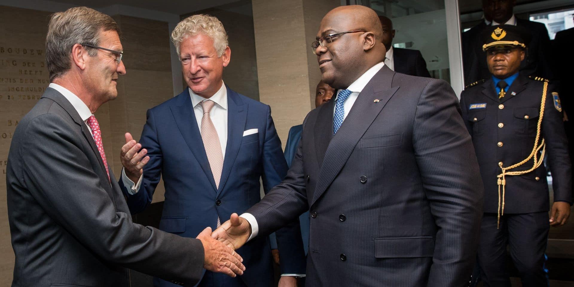 Tshisekedi signe un accord de coopération avec le secteur diamantaire anversois