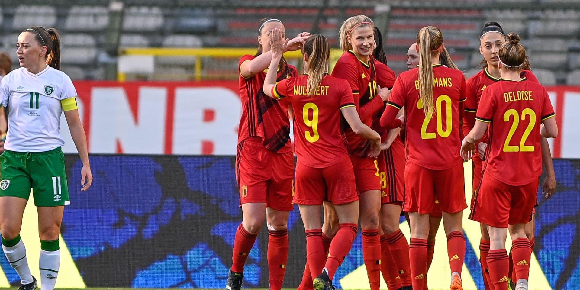 Red Flames: après trois défaites, les Red Flames renouent avec la victoire en battant l'Irlande (1-0)