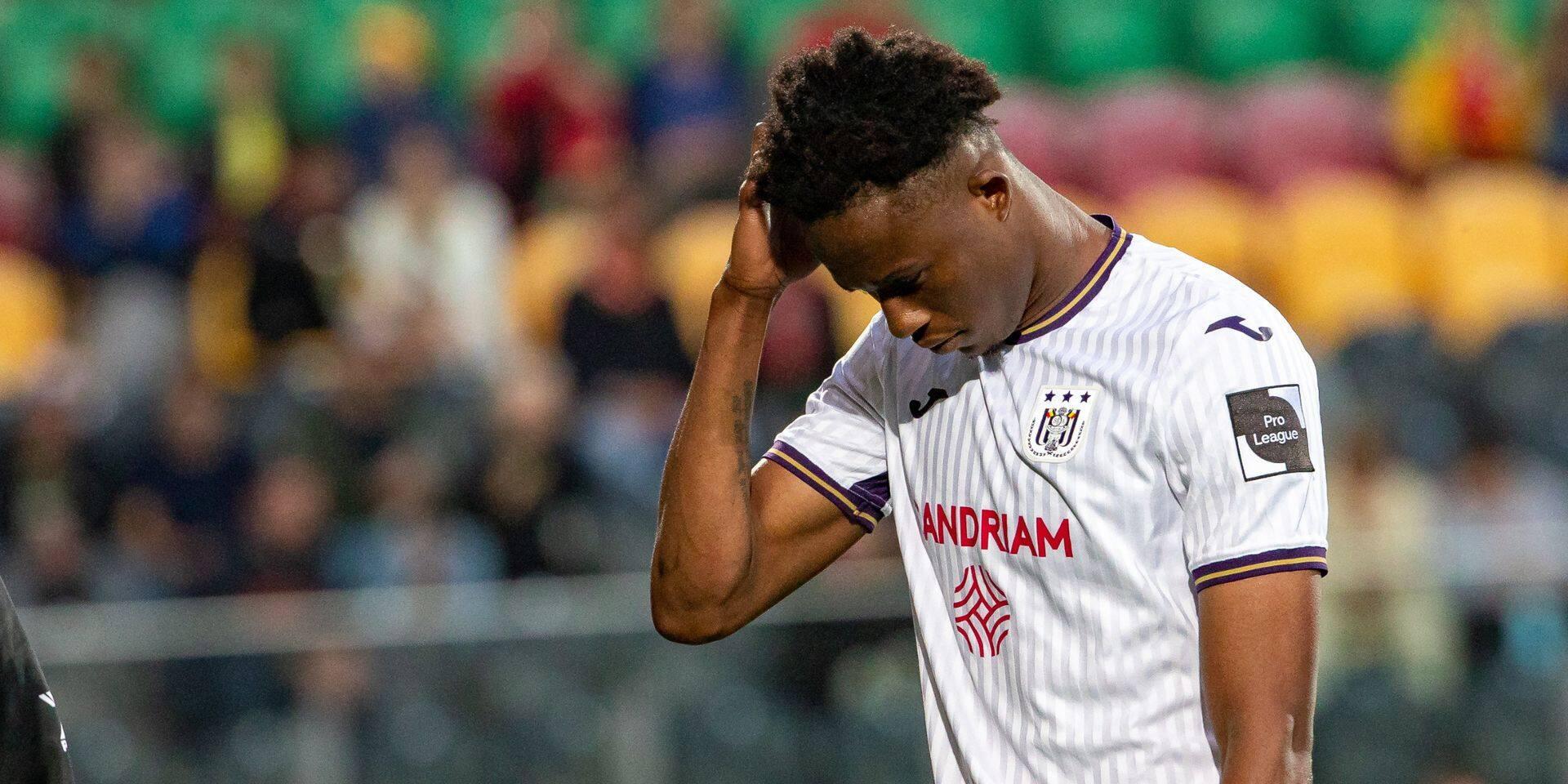 Anderlecht en appel de la suspension de Christian Kouamé