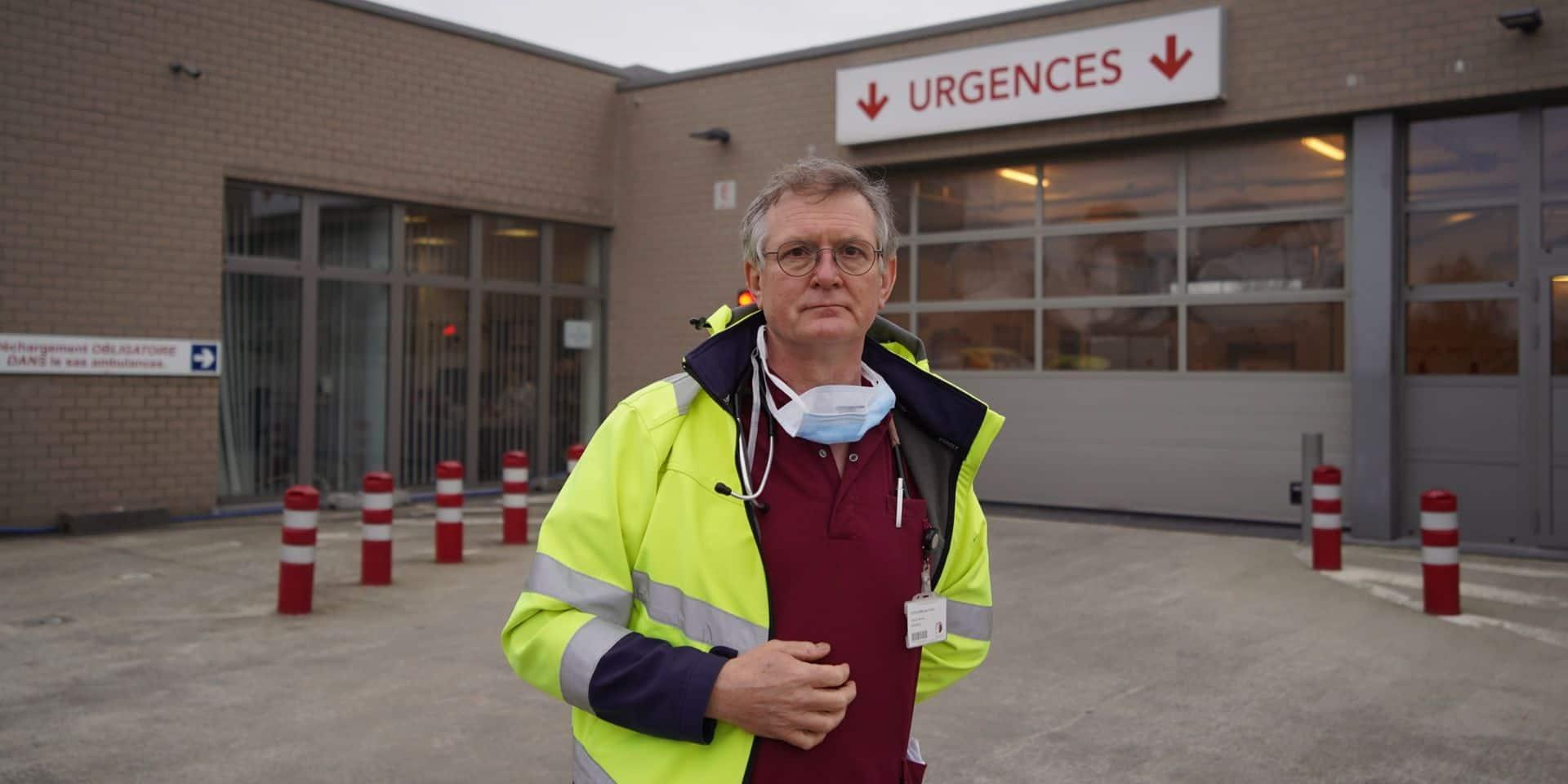 """Près de 100 patients Covid à la clinique Saint-Pierre à Ottignies: """"c'est très lourd dans les soins intensifs"""""""