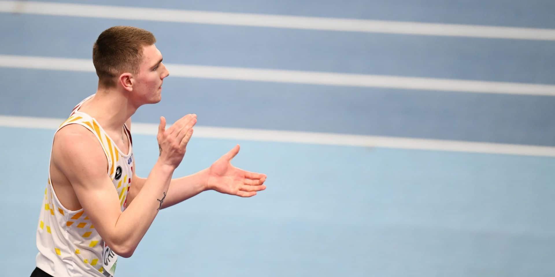 Thomas Carmoy offre une quatrième médaille, de bronze, à la Belgique