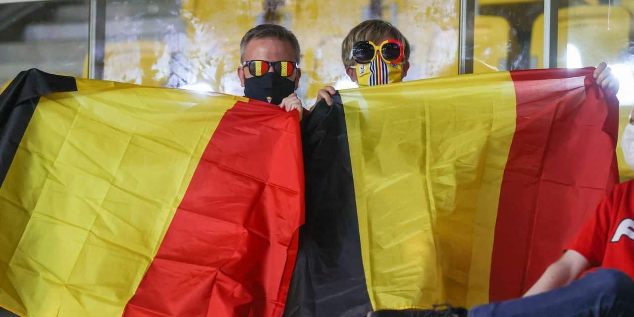Des supporters belges présents au match contre le Danemark appelés à se faire tester en urgence