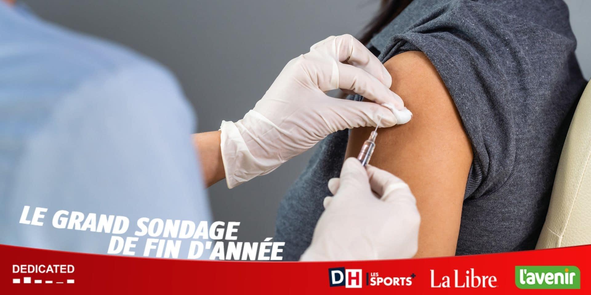 Le grand sondage de fin d'année de la DH : pour réussir la stratégie de vaccination, il faudra convaincre