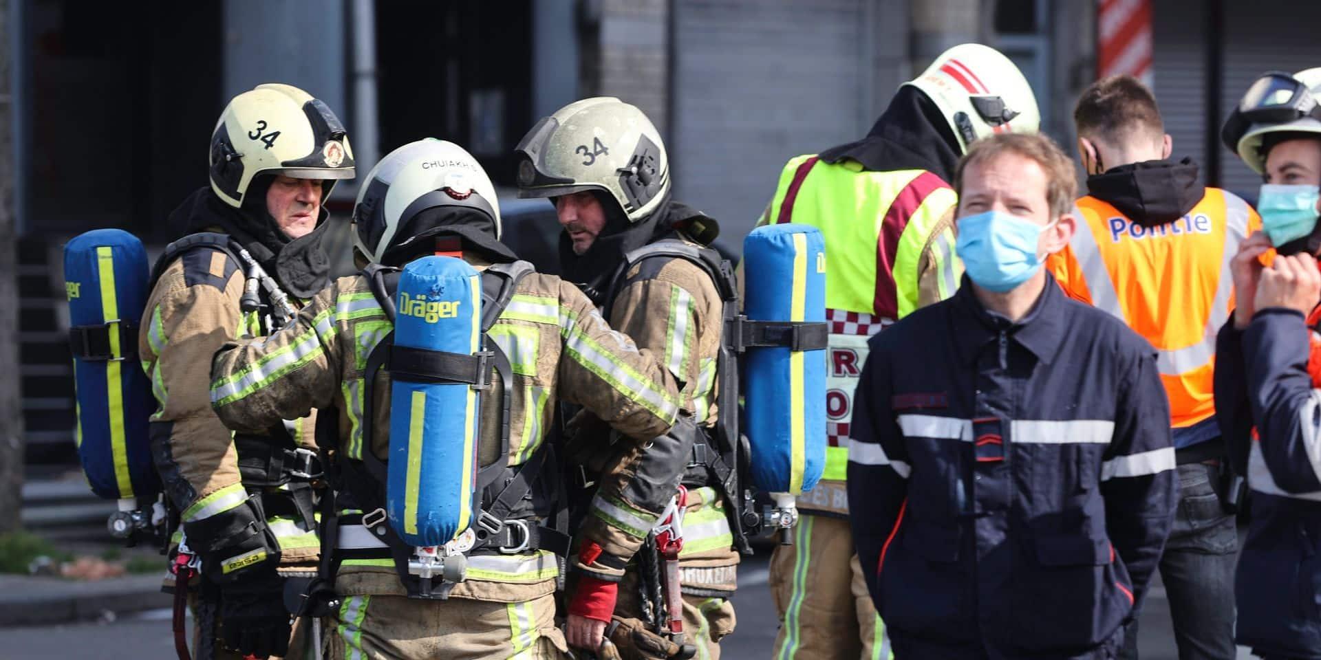 Incendie à Anderlecht: deux corps sans vie retrouvés dans les décombres