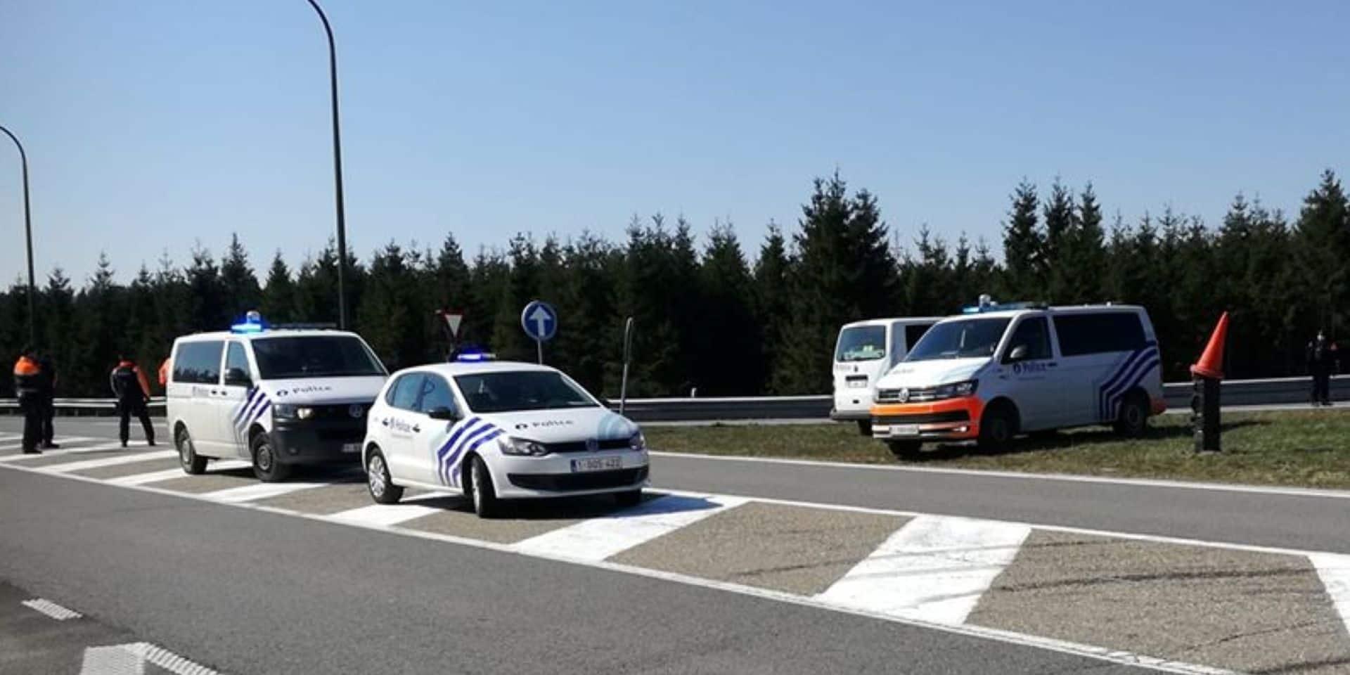 Contrôle du respect du confinement : 400 PV dressés en province de Luxembourg !