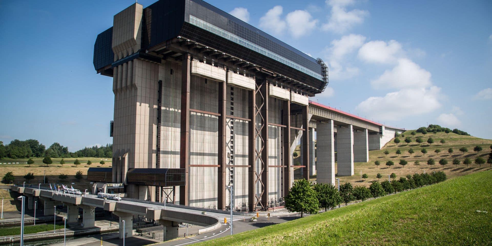 Retour du cinéma drive-in aux ascenseurs de Strépy-Thieu