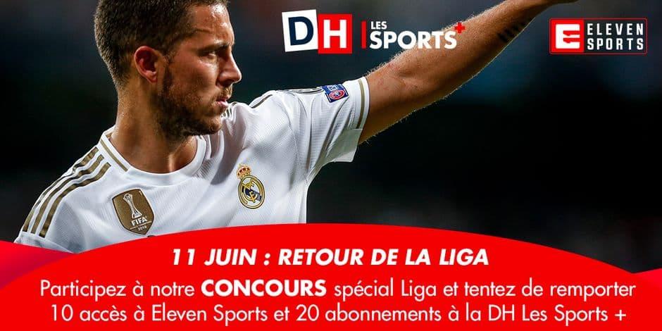 Concours spécial reprise de la Liga: remportez vos accès à Eleven Sports et à la DH Les Sports + !