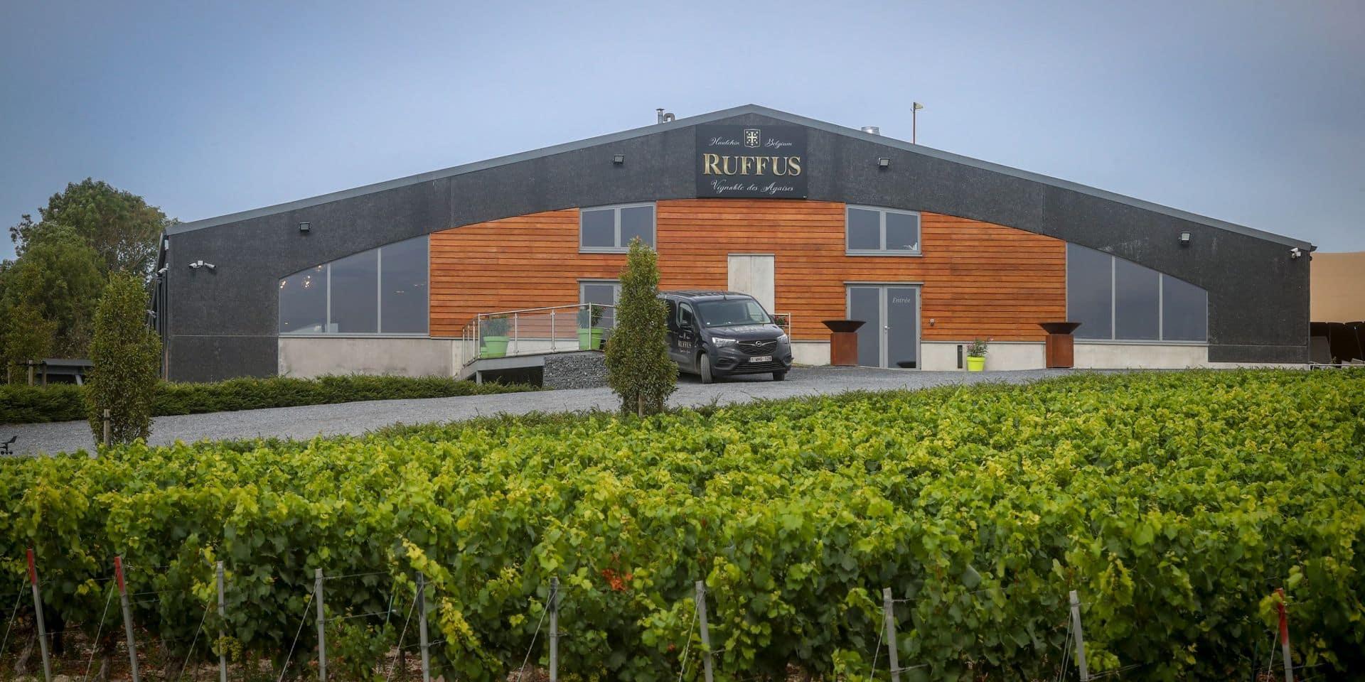 Estinnes: Le Ruffus Rosé sacré meilleur effervescent en Allemagne