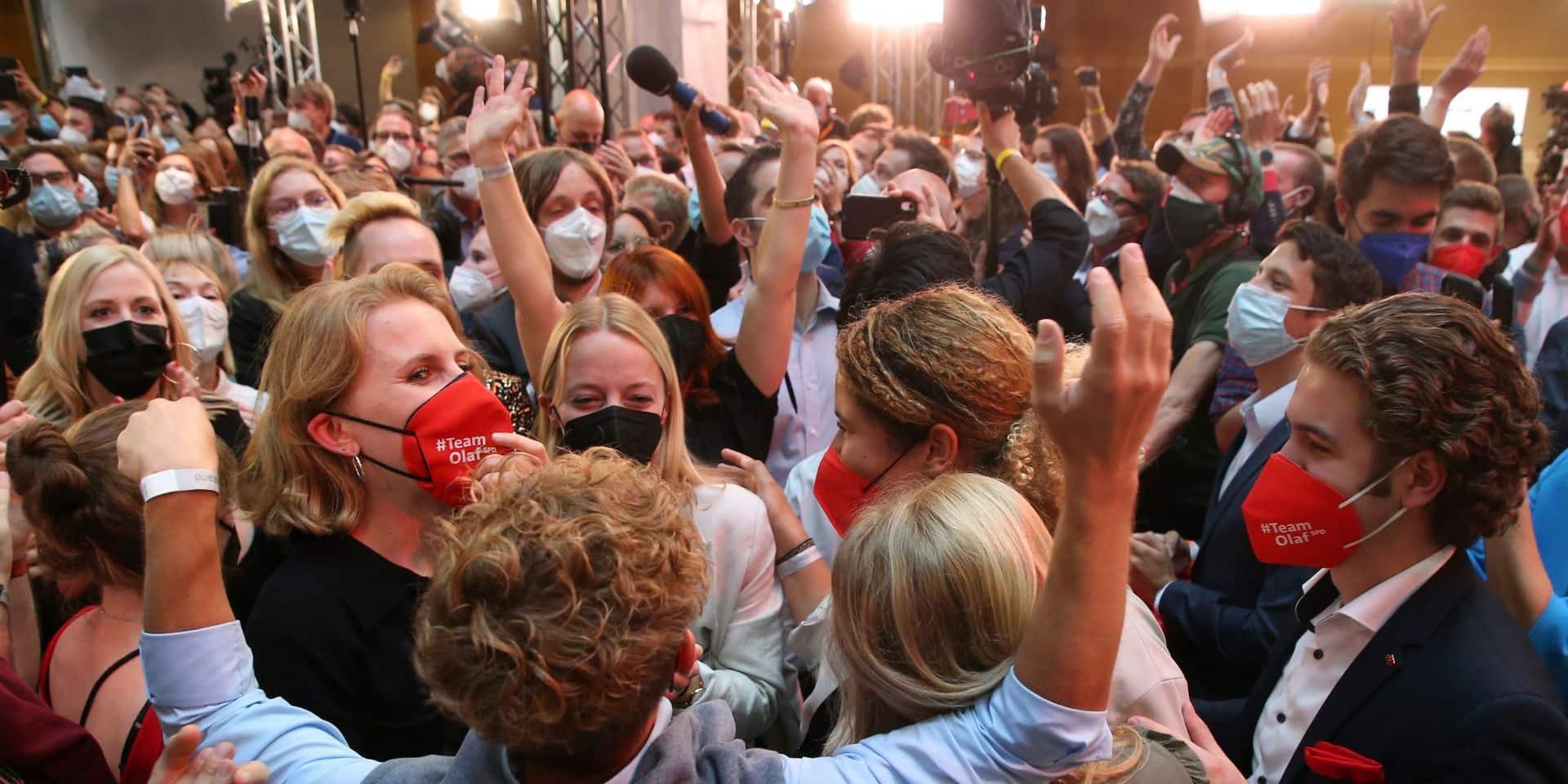 Elections en Allemagne : les deux partis au pouvoir dans un mouchoir de poche