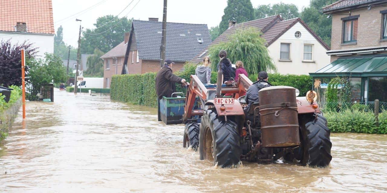 Inondations: le plan d'urgence provincial déclenché en Brabant wallon