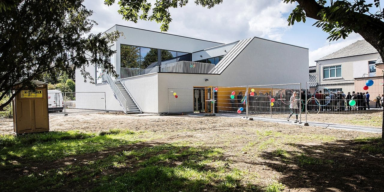Beyne-Heusay : nouveau hall sportif à l'école Jean XXIII