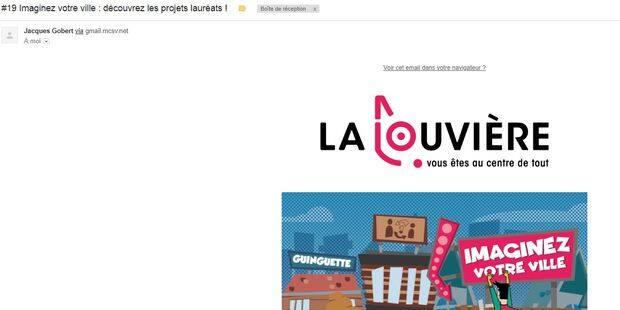 La Louvière : la newsletter de la ville pose question - La DH