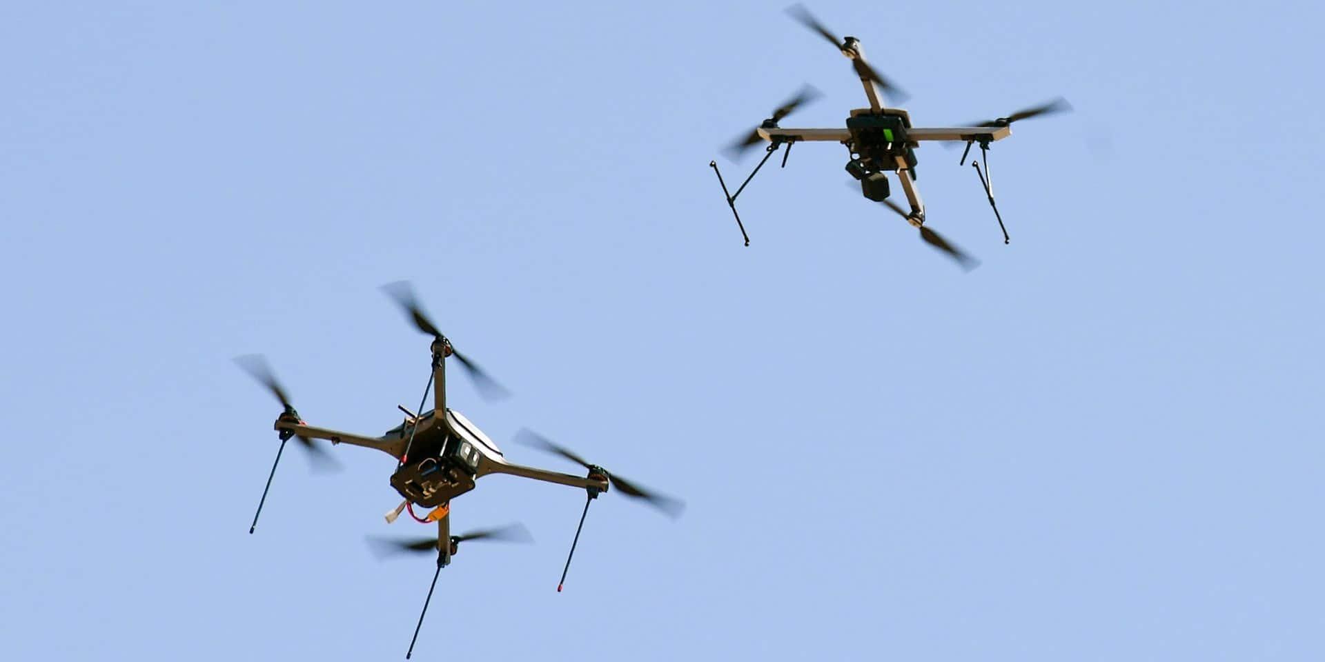 Les grands drones prennent d'assaut le ciel belge