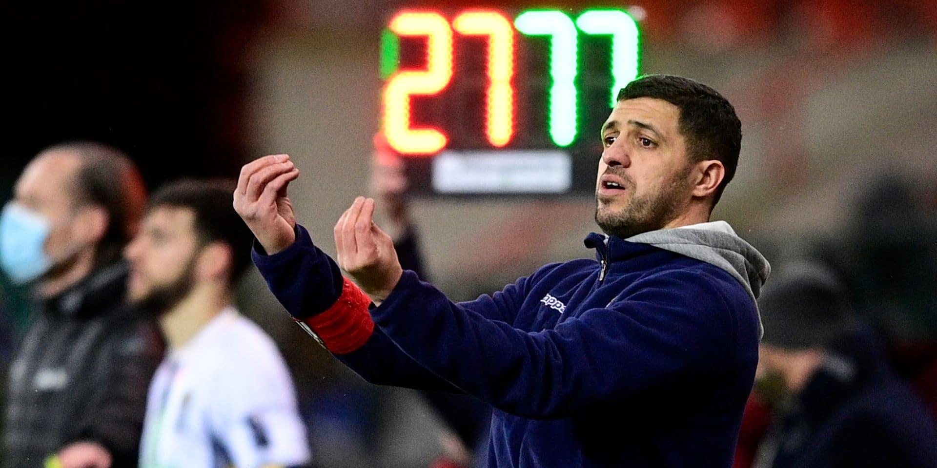 Le sujet que vous avez choisi: l'entraîneur de Charleroi Karim Belhocine est-il en danger ?